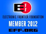 EFF 2012 Rectangle Member Badge